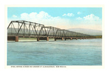 Steel Bridge over Rio Grande, Albuquerque, New Mexico Prints