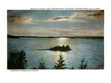 Rainy Lake, International Falls,  Minnesota Poster