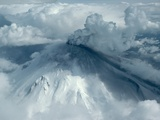 Mount St. Helens Erupts Photographic Print by Jim Sugar