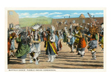 Pueblo Indian Buffalo Dance Posters
