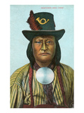 Arapaho Indian Bird Chief Posters