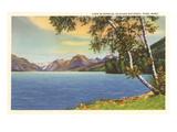 Lake McDonald, Glacier Park, Montana Poster