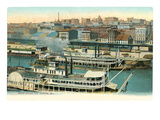Riverfront, St. Louis, Missouri Prints