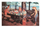 Cookout by the Lake Prints
