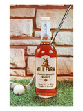 Whiskey and Putter, Retro Prints