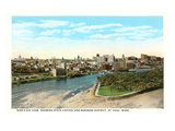 View of St. Paul, Minnesota Prints