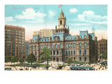 City Hall, Detroit, Michigan Prints