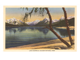 Lake McDonald, Glacier Park, Montana Print