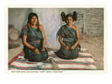 Hopi Mother and Daughter Prints