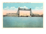 Memorial Bridge, Portsmouth, New Hampshire Art