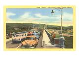 Bridge into Tijuana, Mexico Prints