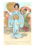 Scene from Madame Butterfly Posters