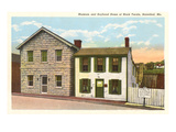 Mark Twain Home, Hannibal, Missouri Posters