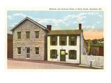 Mark Twain Home, Hannibal, Missouri Posters