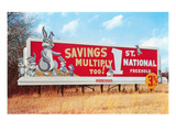 Billboard for Savings, Rabbits Art