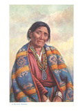 Navajo Woman Posters