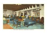 Interior, Franciscan Hotel, Albuquerque, New Mexico Art