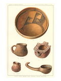 Hopi Ceramic Artifacts from Awatobi Prints
