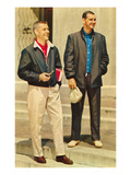 Men's Fashions on Campus, Retro Prints
