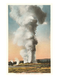Giant Geyser, Yellowstone Park, Montana Posters