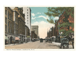 Tryon Street, Charlotte, North Carolina Prints