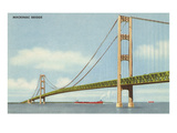 Mackinac Bridge, Michigan Posters