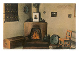 Lew Wallace's Room, Governor's Palace, Santa Fe, New Mexico Posters