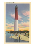 Barnegat Lighthouse, New Jersey Poster