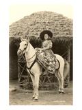 Charra à cheval, Mexique Posters