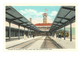 Train Station, Butte, Montana Prints