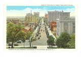 Downtown Raleigh, North Carolina Kunstdrucke