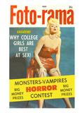 Men's Pulp Magazine Cover Prints