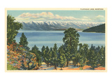 Flathead Lake, Montana Kunstdrucke
