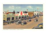 Main Street, Tijuana, Mexico Prints