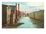 Hosiery Mills, Laconia, New Hampshire Posters