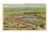 Fisher Body Company, Flint, Michigan Prints