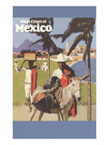 Travel Poster for West Coast of Mexico Prints