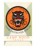 Tank Destroyer Forces, Camp Hood, Texas Prints