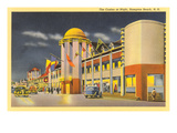 Casino at Night, Hampton Beach, New Hampshire Posters