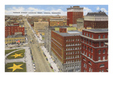 Farnam Street, Omaha, Nebraska Prints