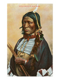 Kiowa Brave in War Dress Prints