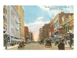 Nicollet Avenue, Minneapolis, Minnesota Print