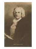 Portrait of Johann Sebastian Bach - Reprodüksiyon