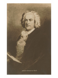 Portrait of Johann Sebastian Bach Posters