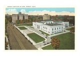 Institute of Arts, Detroit, Michigan Print