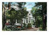 Cottage Gardens, Natchez, Mississippi Posters
