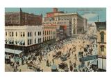 Douglas Street, Omaha, Nebraska Posters