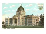 State Capitol, Helena, Montana Prints