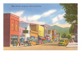 Main Street, Andrews, North Carolina Poster