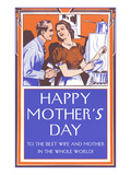 Happy Mothers Day, Fifties, To the Best... Pósters